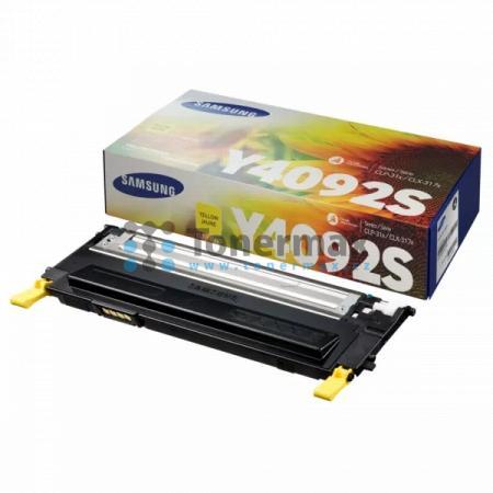 Samsung CLT-Y4092S, originální toner pro tiskárny Samsung CLP-310, CLP-310N, CLP-315, CLP-315W, CLX-3170, CLX-3170FN, CLX-3170N, CLX-3175, CLX-3175FN, CLX-3175FW, CLX-3175N