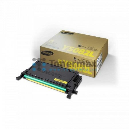 Samsung CLT-Y5082L, originální toner pro tiskárny Samsung CLP-620ND, CLP-670N, CLP-670ND, CLX-6220FX, CLX-6250FX