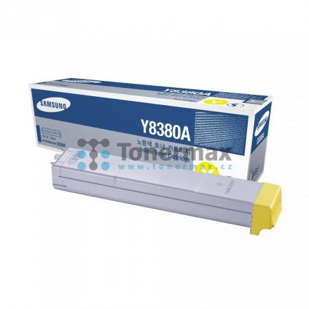 Samsung CLX-Y8380A, originální toner pro tiskárny Samsung MultiXpress C8380, CLX-8380, MultiXpress C8380ND, CLX-8380ND