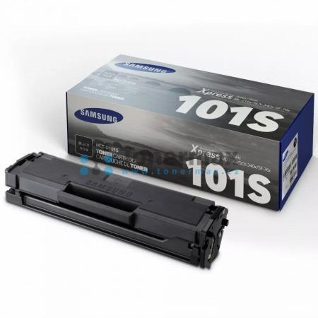 Samsung MLT-D101S, originální toner pro tiskárny Samsung ML-2160, ML-2162, ML-2162W, ML-2164, ML-2164W, ML-2165, ML-2165W, ML-2168, ML-2168W, SCX-3400, SCX-3400F, SCX-3405, SCX-3405F, SCX-3405FW, SCX-3405W, SF-760P