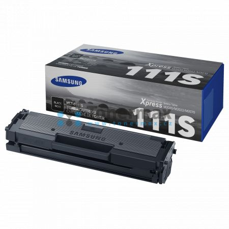 Samsung MLT-D111S, originální toner pro tiskárny Samsung Xpress M2020, SL-M2020, Xpress M2020W, SL-M2020W, Xpress M2022, SL-M2022, Xpress M2022W, SL-M2022W, Xpress M2026, SL-M2026, Xpress M2026W, SL-M2026W, Xpress M2070, SL-M2070, Xpress M2070F, SL-M2070F
