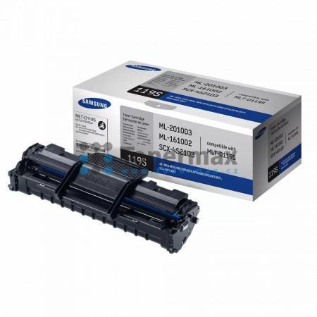 Samsung MLT-D119S, originální toner pro tiskárny Samsung ML-1610, ML-1610R, ML-1615, ML-1620, ML-1625, ML-1625R, ML-2010, ML-2010P, ML-2010PR, ML-2010R, ML-2015, ML-2020, ML-2510, ML-2570, ML-2571N, SCX-4321, SCX-4521F, SCX-4521FG