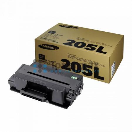 Samsung MLT-D205L, originální toner pro tiskárny Samsung ML-3310D, ML-3310ND, ML-3312ND, ML-3710D, ML-3710DW, ML-3710ND, ML-3712DW, ML-3712ND, SCX-4833FD, SCX-4833FR, SCX-4835FD, SCX-4835FR, SCX-5637FR, SCX-5639FR, SCX-5639FW, SCX-5737FW