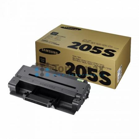 Samsung MLT-D205S, originální toner pro tiskárny Samsung ML-3310D, ML-3310ND, ML-3312ND, ML-3710D, ML-3710DW, ML-3710ND, ML-3712DW, ML-3712ND, SCX-4833FD, SCX-4833FR, SCX-4835FD, SCX-4835FR, SCX-5637FR, SCX-5639FR, SCX-5639FW, SCX-5737FW