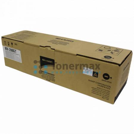 Sharp MX-206GT, originální toner pro tiskárny Sharp MX-M160D, MX-M200D