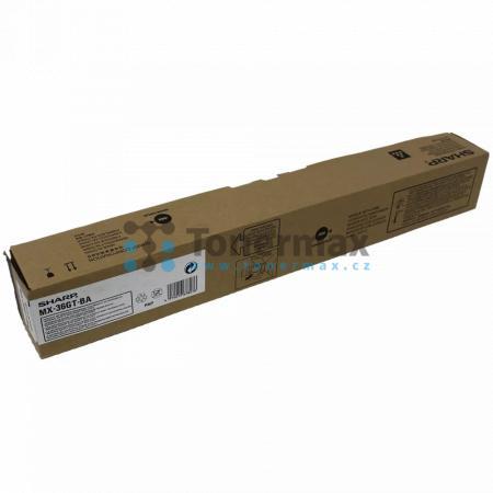 Sharp MX-36GTBA, MX-36GT-BA, originální toner pro tiskárny Sharp MX-2610N, MX-2640N, MX-3110N, MX-3140N, MX-3610N, MX-3640N
