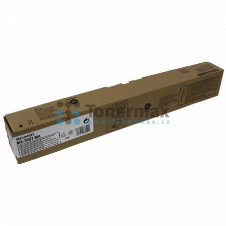Sharp MX-36GTMA, MX-36GT-MA, poškozený obal, originální toner pro tiskárny Sharp MX-2610N, MX-2640N, MX-3110N, MX-3140N, MX-3610N, MX-3640N