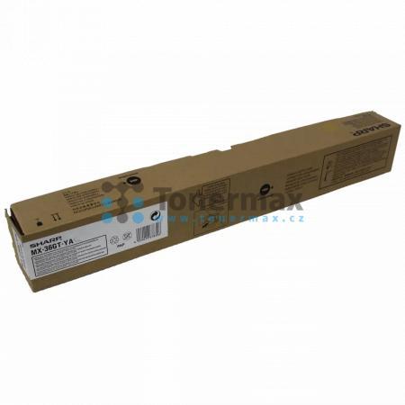 Sharp MX-36GTYA, MX-36GT-YA, originální toner pro tiskárny Sharp MX-2610N, MX-2640N, MX-3110N, MX-3140N, MX-3610N, MX-3640N