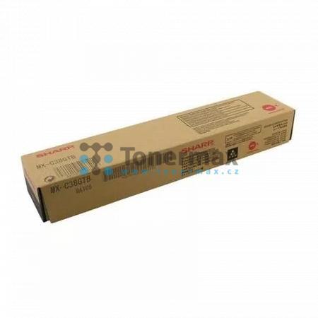 Sharp MX-C38GTB, originální toner pro tiskárny Sharp MX-C310, MX-C311, MX-C312, MX-C380, MX-C381, MX-C382SC