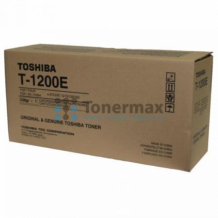 Toshiba T-1200E, 66099501, originální toner pro tiskárny Toshiba e-STUDIO 12, e-STUDIO12, e-STUDIO 15, e-STUDIO15, e-STUDIO 120, e-STUDIO120, e-STUDIO 150, e-STUDIO150