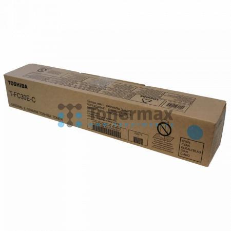 Toshiba T-FC30E-C, 6AJ00000099, originální toner pro tiskárny Toshiba e-STUDIO 2050C, e-STUDIO2050C, e-STUDIO 2051C, e-STUDIO2051C, e-STUDIO 2550C, e-STUDIO2550C, e-STUDIO 2551C, e-STUDIO2551C