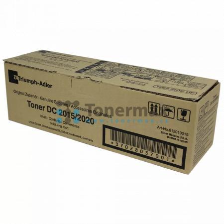 Triumph Adler 612010015, originální toner pro tiskárny Triumph Adler DC 2015, DC2015, DC 2020, DC2020, kompatibilní také s Utax CD 1015, CD1015, CD 1020, CD1020