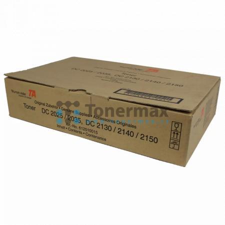 Triumph Adler 612510015, poškozený obal, originální toner pro tiskárny Triumph Adler DC 2025, DC2025, DC 2035, DC2035, DC 2130, DC2130, DC 2140, DC2140, DC 2150, DC2150, kompatibilní také s Utax CD 1025, CD1025, CD 1030, CD1030, CD 1035, CD1035, CD 1040,