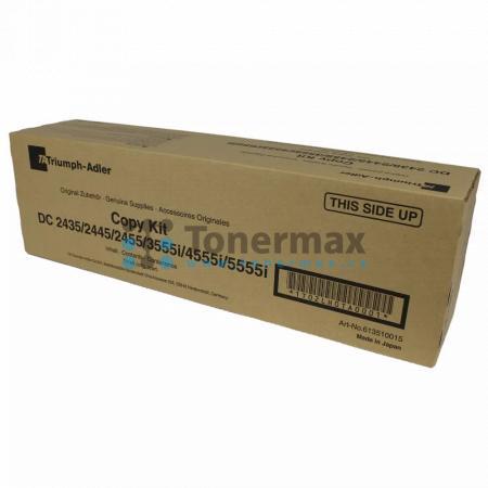 Triumph Adler 613510015, originální toner pro tiskárny Triumph Adler 3555i, 4555i, 5555i, DC 2435, DC2435, DC 2445, DC2445, DC 2455, DC2455, kompatibilní také s Utax 3555i, 4555i, 5555i, CD 1435, CD1435, CD 1445, CD1445, CD 1455, CD1455