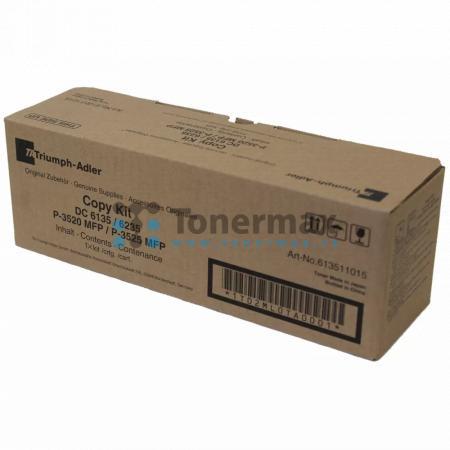 Triumph Adler 613511015, originální toner pro tiskárny Triumph Adler DC 6135, DC6135, DC 6235, DC6235, P-3520 MFP, P3520 MFP, P-3525 MFP, P3525 MFP, kompatibilní také s Utax CD 5135, CD5135, CD 5235, CD5235, P-3520 MFP, P3520 MFP, P-3525 MFP, P3525 MFP