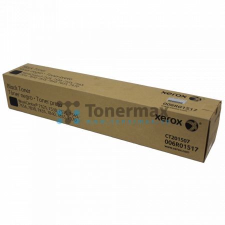 Xerox 006R01517, originální toner pro tiskárny Xerox WorkCentre 7525, WorkCentre 7530, WorkCentre 7535, WorkCentre 7545, WorkCentre 7556, WorkCentre 7830, WorkCentre 7835, WorkCentre 7845, WorkCentre 7855, WorkCentre 7970