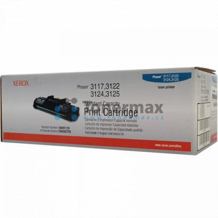 Xerox 106R01159, originální toner pro tiskárny Xerox Phaser 3117, Phaser 3122, Phaser 3124, Phaser 3125