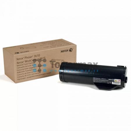 Xerox 106R02721, originální toner pro tiskárny Xerox Phaser 3610, Phaser 3610DN, Phaser 3610N, WorkCentre 3615, WorkCentre 3615DN